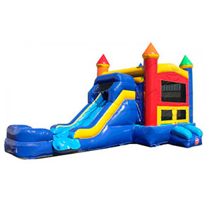 Happy Kids Inflatables - Castle Combo #2 Inflatable Bounce House with Slide