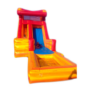 Happy Kids Inflatables - Fire & Ice Wet Inflatable Slide