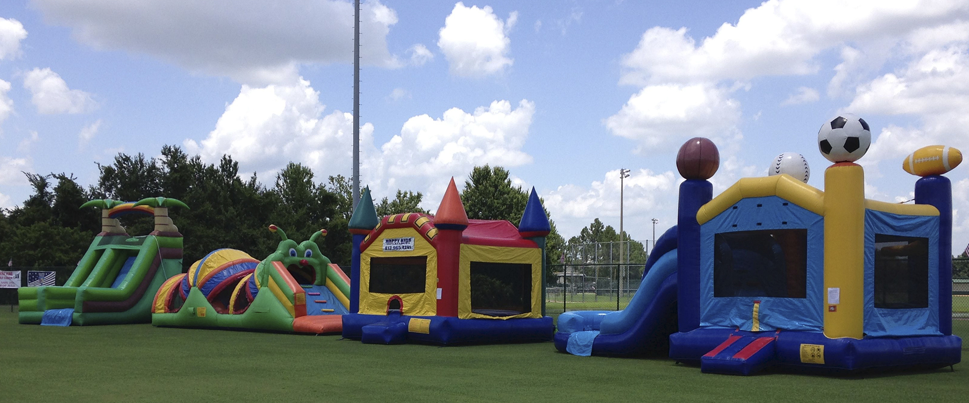 Happy Kids Inflatables Slides Plant City Florida