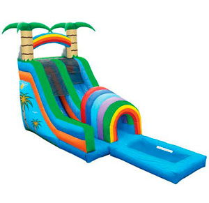 Water Slides and Wet Combos Inflatables